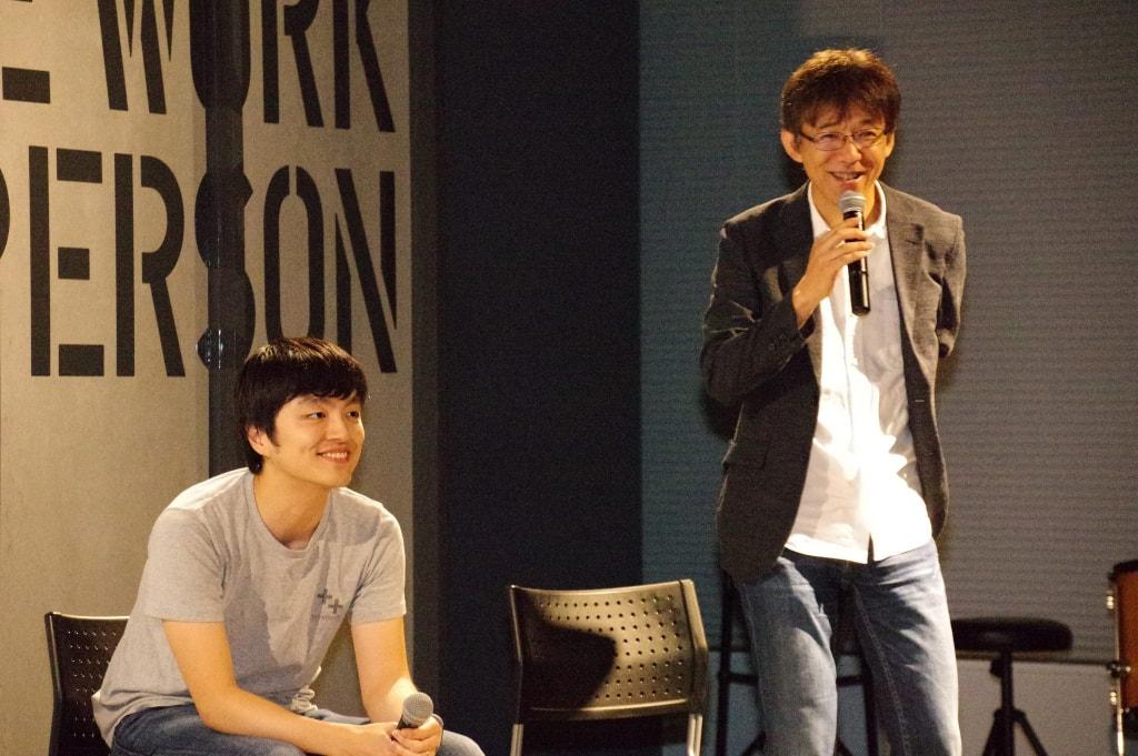 左:海野弘成(Increments CEO) 右:及川卓也(Incrementsアドバイザー)