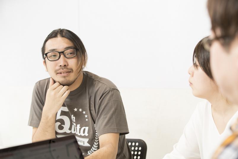 東峰 裕之:2014年入社。Incrementsにてキータやキータチームのデザイナー兼コミュニティマネージャとして、コミュニティの活性化に従事