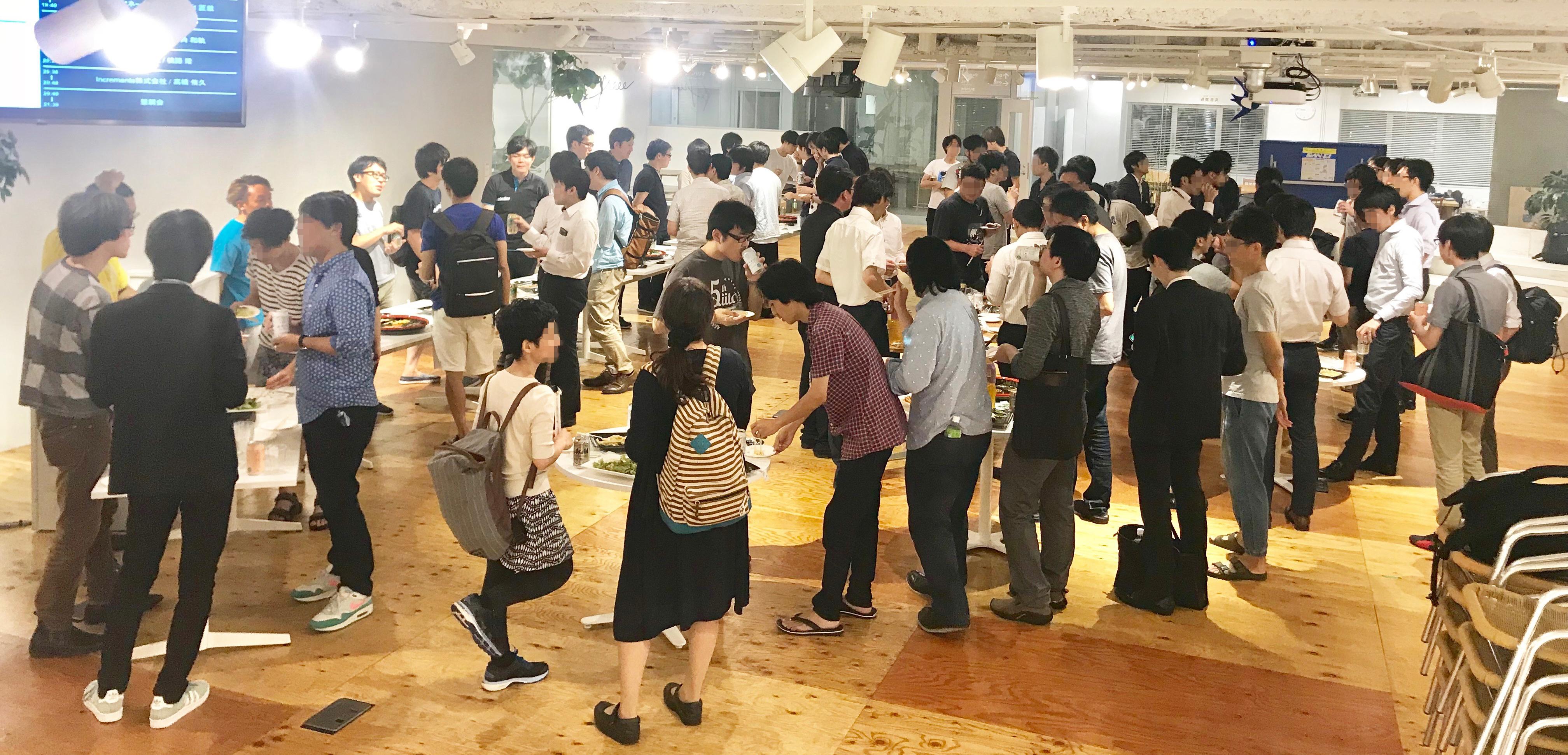 Qiita採用イベント懇親会